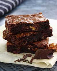 Brownie de Café Utam Solúvel e Nozes