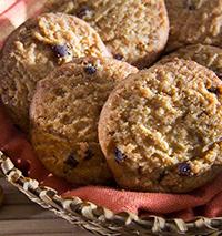 Cookies de Cappuccino e Amêndoas